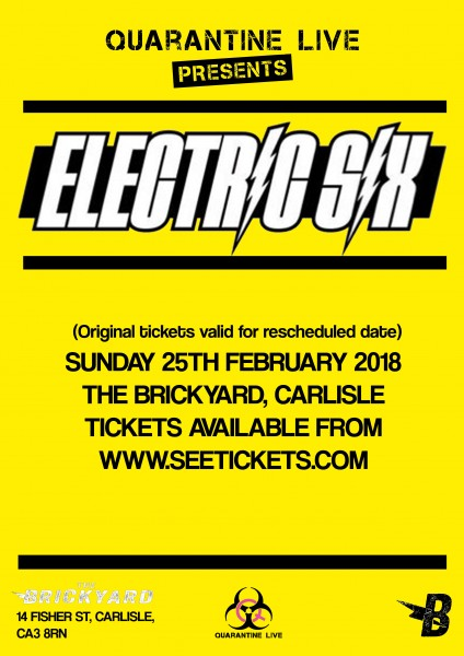 electric six poster