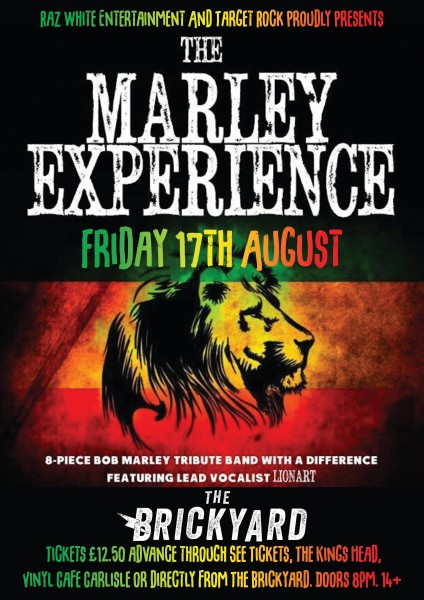 Marley Experience poster