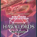 hawklords poster print size